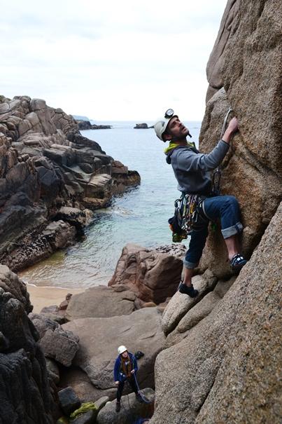 Cruit Island Rock Climbing